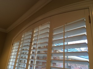 shutter arch without operable louvers