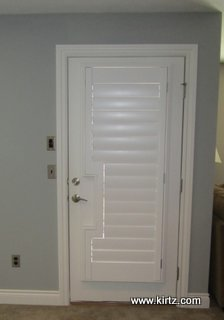 Plantation Shutters Compliment Clean Lines Kirtz